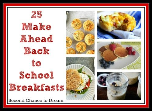 25 Back to School Breakfasts