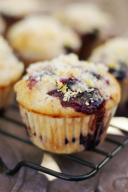 Double Blueberry Muffins 1
