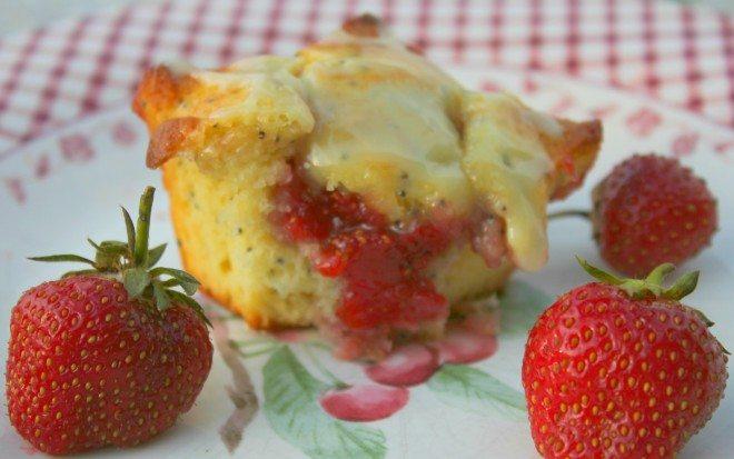 Lemon Poppy Seed Strawberry Jam Filling