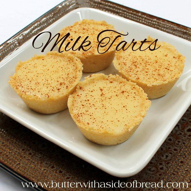 Milktarts.6.butterwithasideofbread