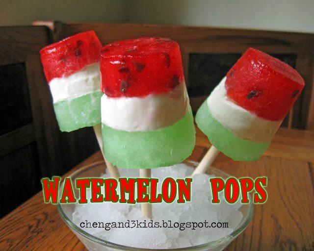 Watermelon Pops 1