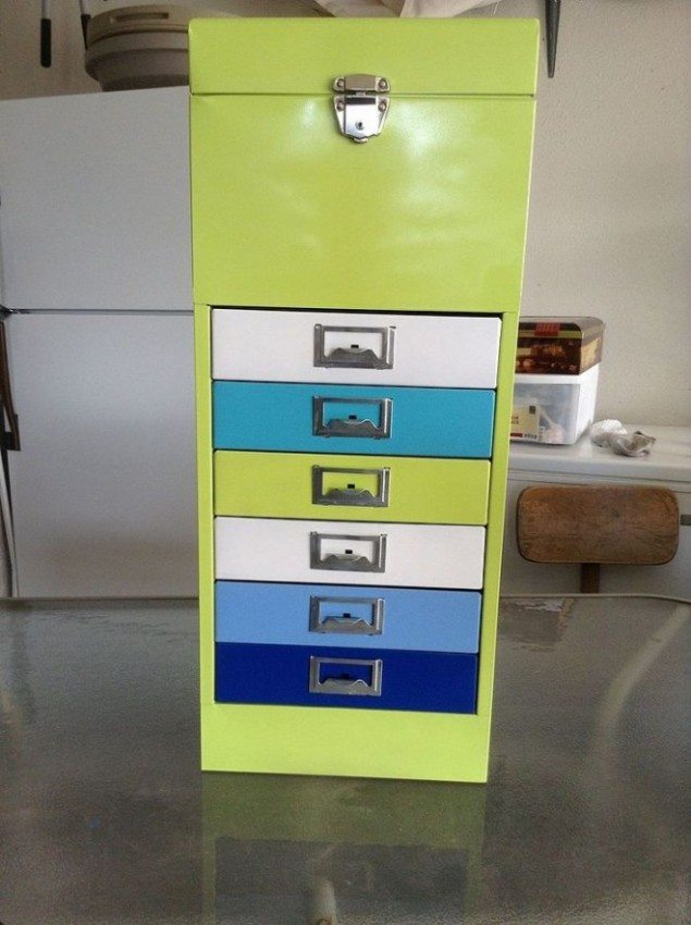 color cabinet