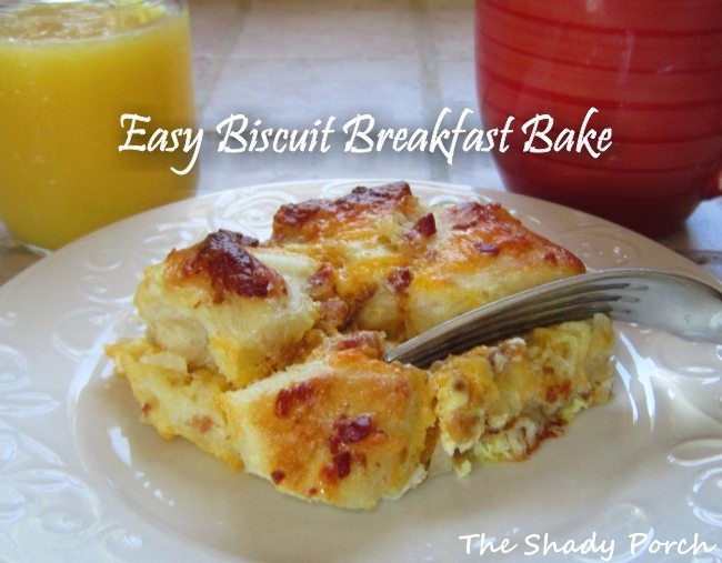 easy biscuit breakfast bake