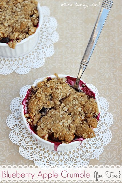 Blueberry Apple Crumble8