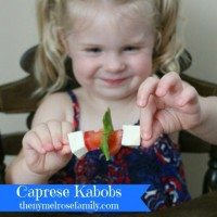 Caprese Kabob Appetizer