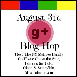 G+ Blog Hop for August