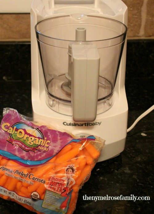 Homemade Baby Food with Cuisinart Baby and Cal-Organic