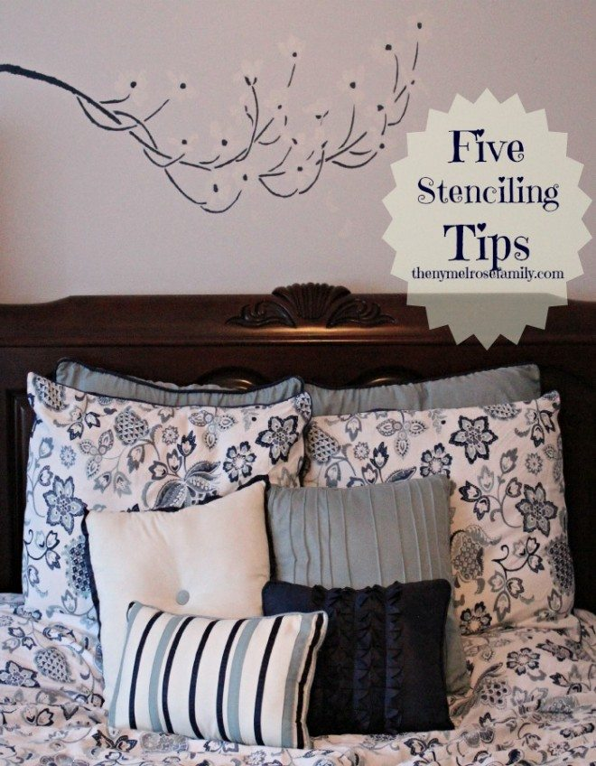 Stenciling Tips and tricks