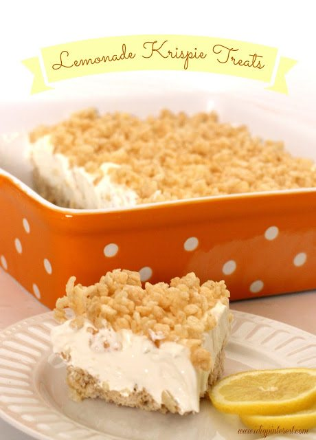 lemonade krispies