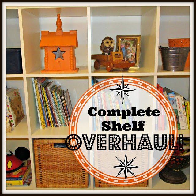 shelf overhaul