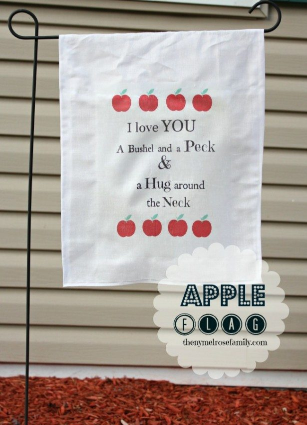 Autumn Apple Flag