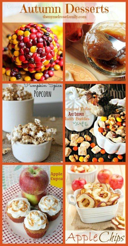 Autumn Desserts