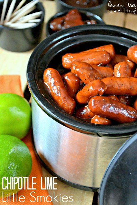 Chipotle Lime Little Smokies 1