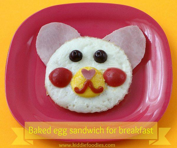 Teddy-bear-baked-eggs-sandwich-for-breakfast-title