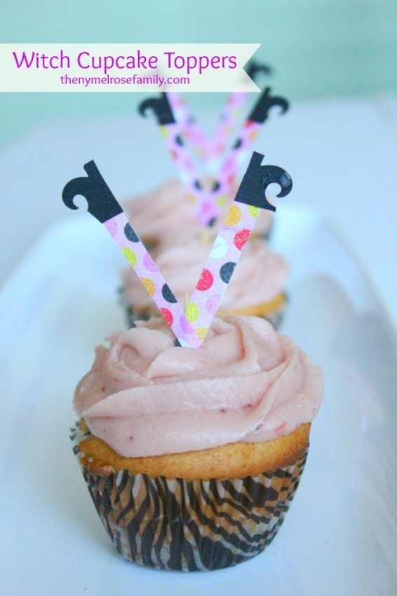 Witch Cupcake Toppers #shop