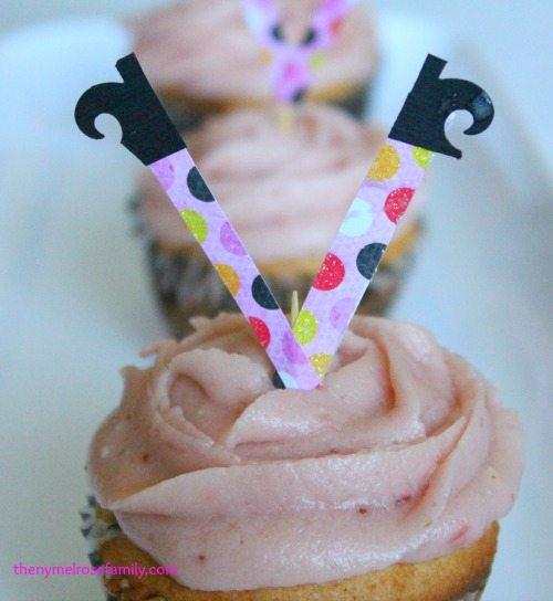 Witch Leg Cupcake Topper #shops