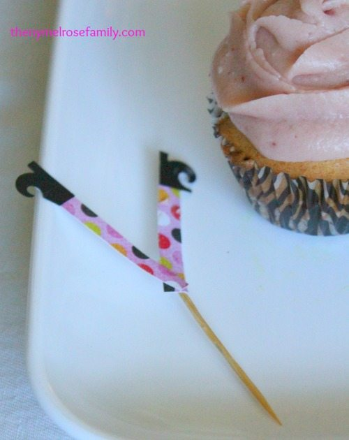 Witch Legs Cupcake Topper