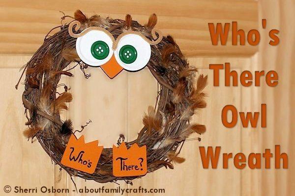 owl-wreath