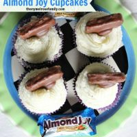 Almond Joy Cupcakes from Leftover Halloween Candy