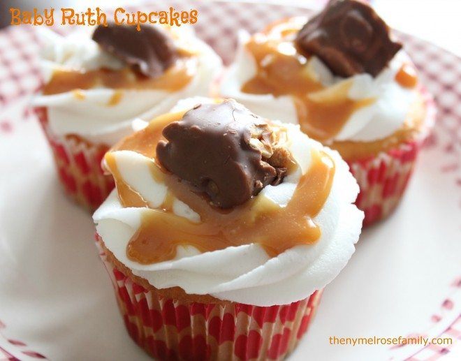 Baby-Ruth-Cupcakes