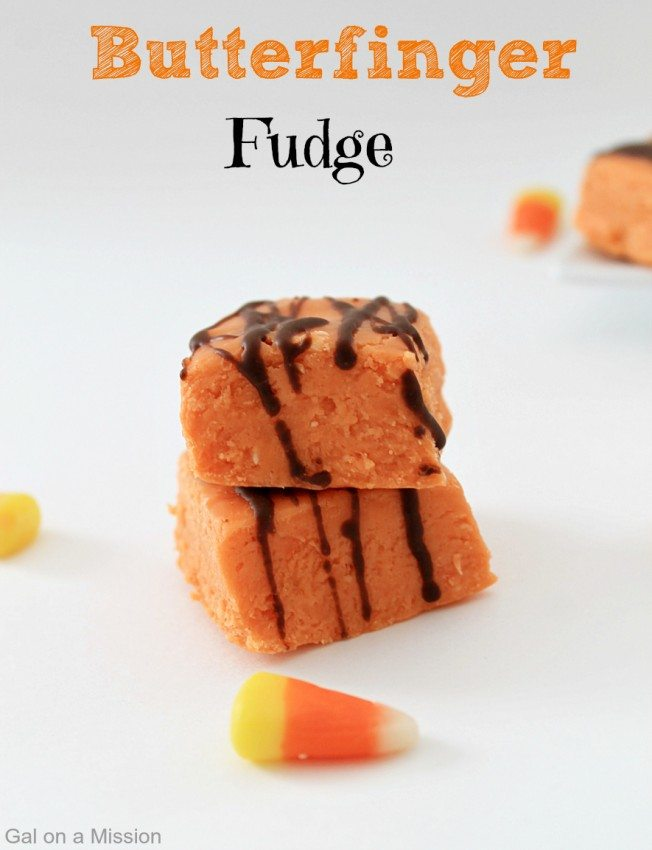Butterfinger-Fudge