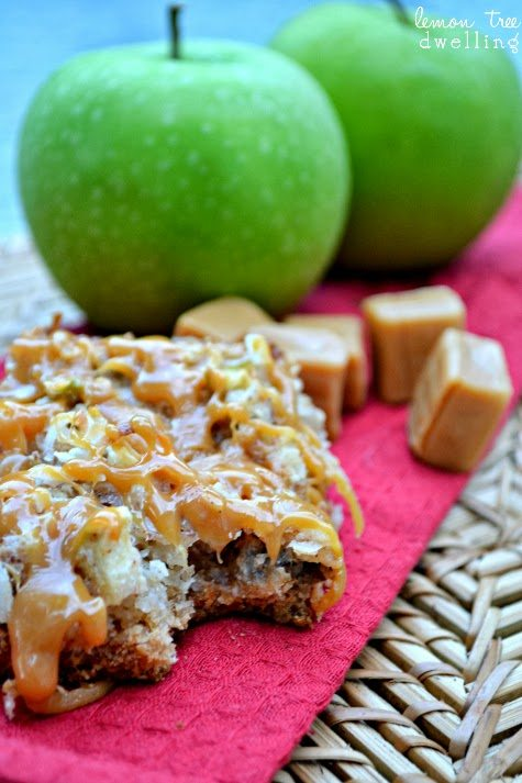 Caramel Apple Bars 1