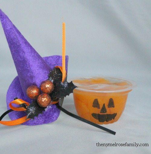 Pumpkin Fruit Cup Party Favor