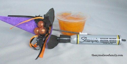 Pumpkin Fruit Cups Supplies