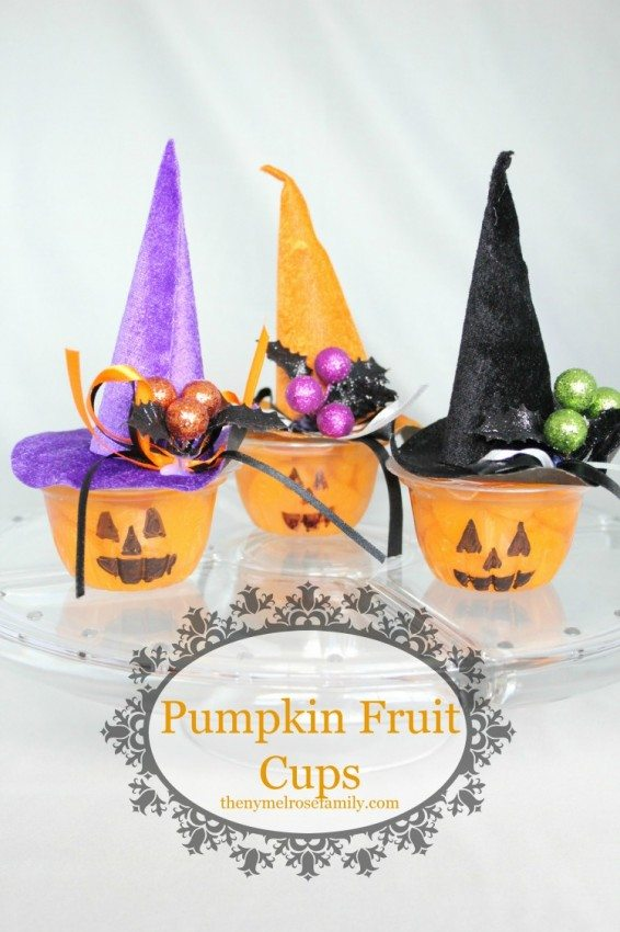 Pumpkin Fruit Cups