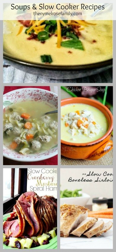 Soups and Slow Cooker Recipes