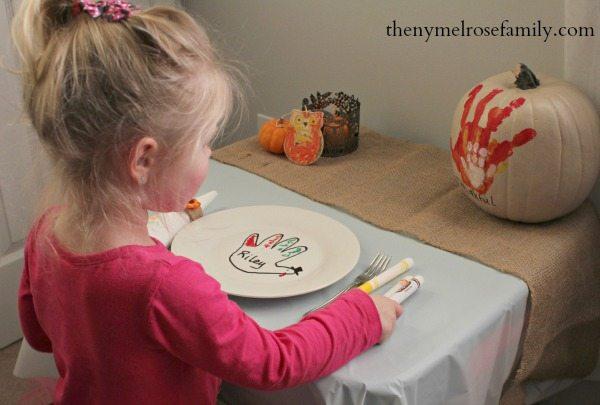 Kids Thanksgiving Turkeyscape