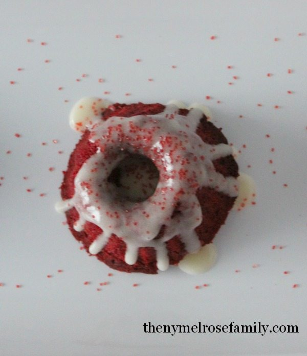 Peppermint Bundt Cakes