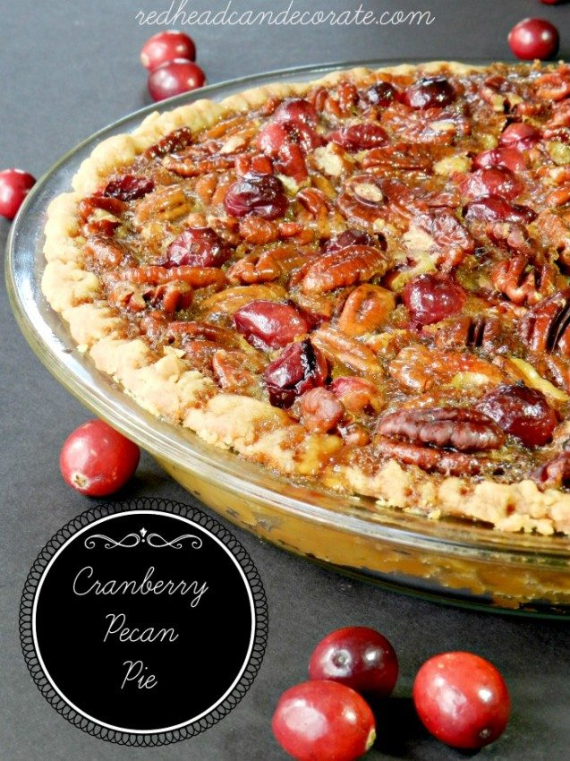 Pecan Cranberry Tart Recipe — Dishmaps