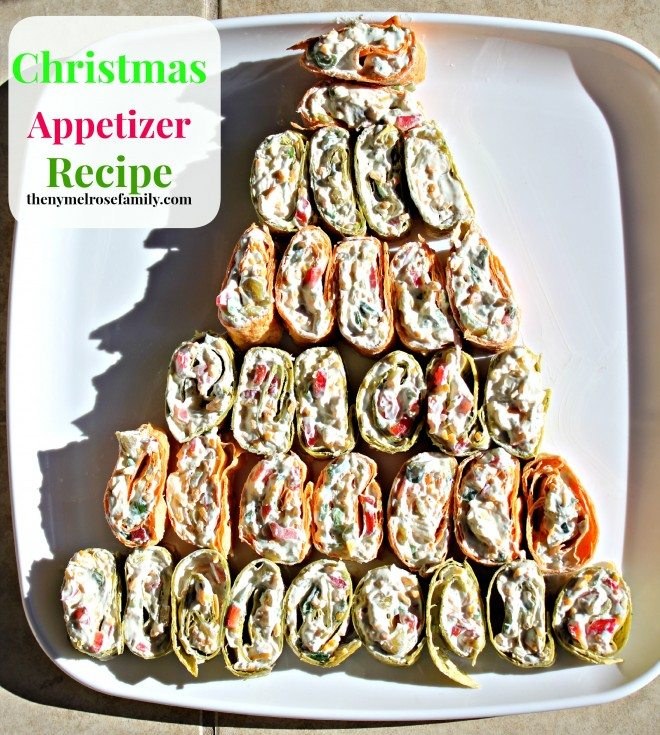 Christmas appetizer recipe visa gift card giveaway the - Christmas tree shaped appetizers ...