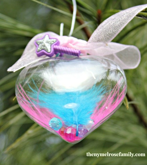 Christmas Princess Ornament Craft