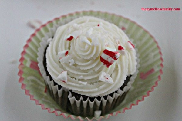 Peppermint Mocha Cupcakes #HolidayAdvantEdge #shop