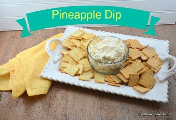 Pineapple Cream Cheese Dip: Food Storage Moms