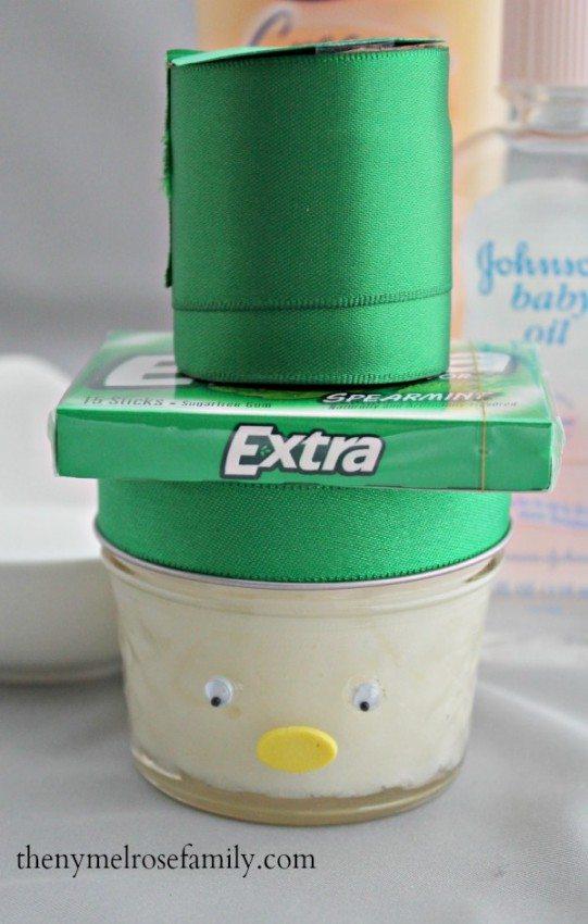 Snowman Sugar Scrub Gift