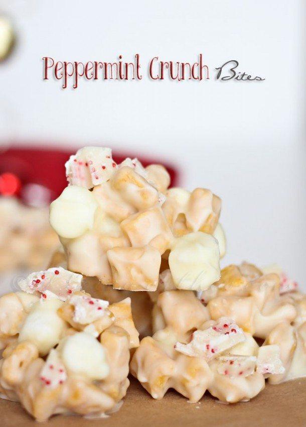 peppermint crunch bites