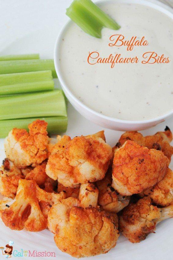 Buffalo-Cauliflower-Bites