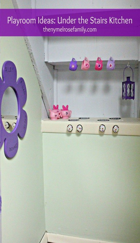 Playroom Ideas Under the Stairs Kitchen