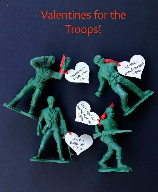 army men valentines title