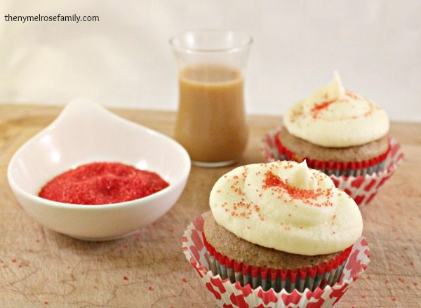 Cinnamon Cupcake Valentine Desserts