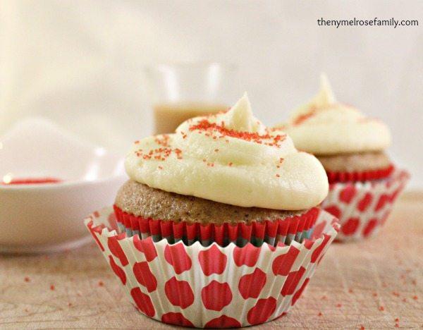 Cinnamon Easy Semi Homemade Cupcakes