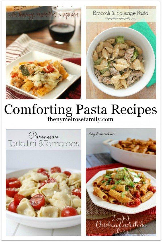 Comforting Pasta Recipes