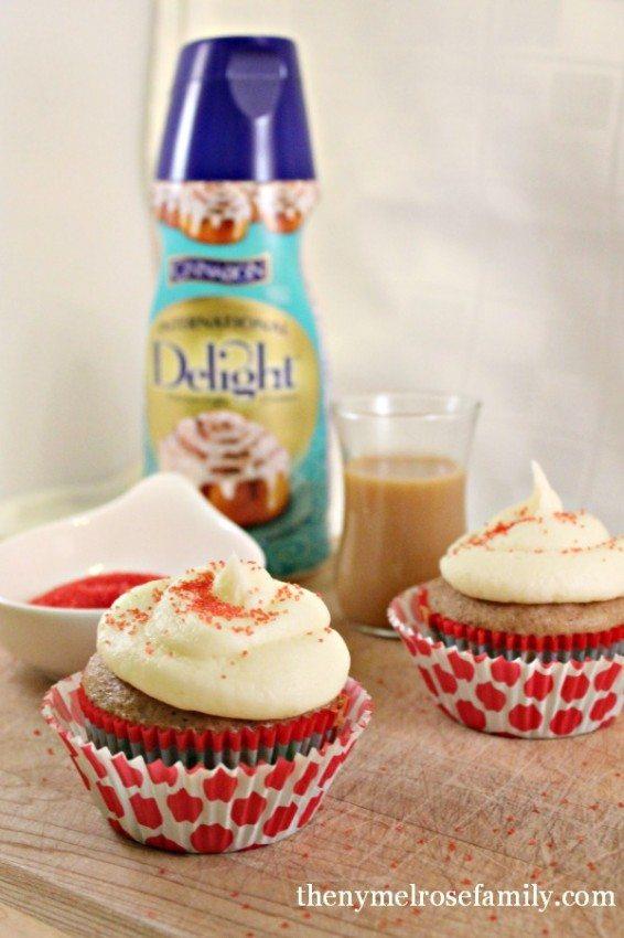 Easy Cinnamon Cupcakes