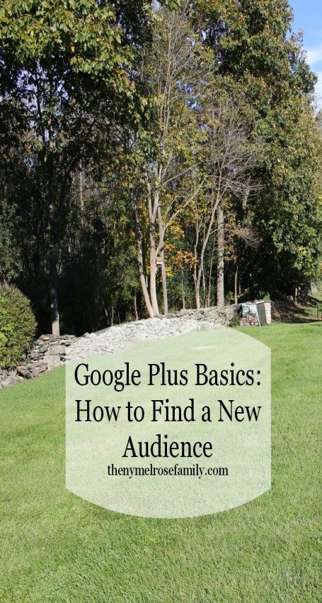 Google Plus Basics How to Find a New Audience