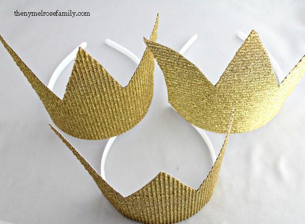 Kids Party Favors Simple Crowns