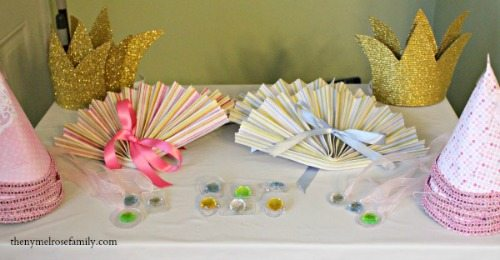 Shabby Chic Princess Party Favors 500