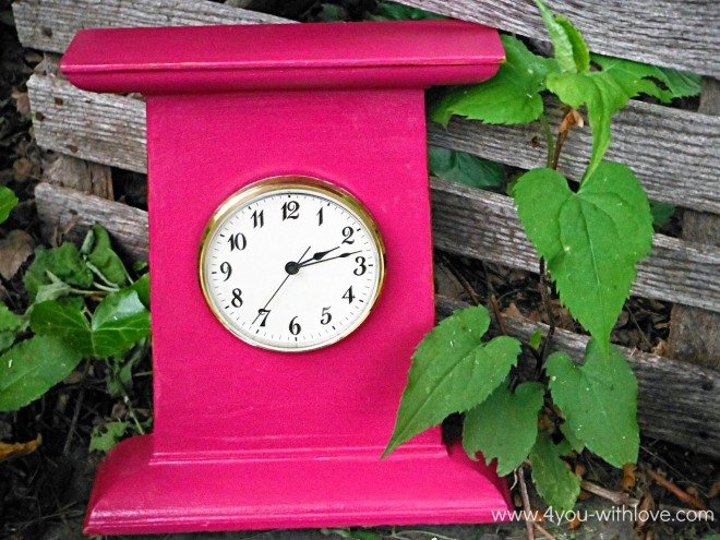 Chalk Paint Clock